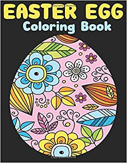 Amazon.com: Easter Egg coloring book: Egg Easter Coloring Book