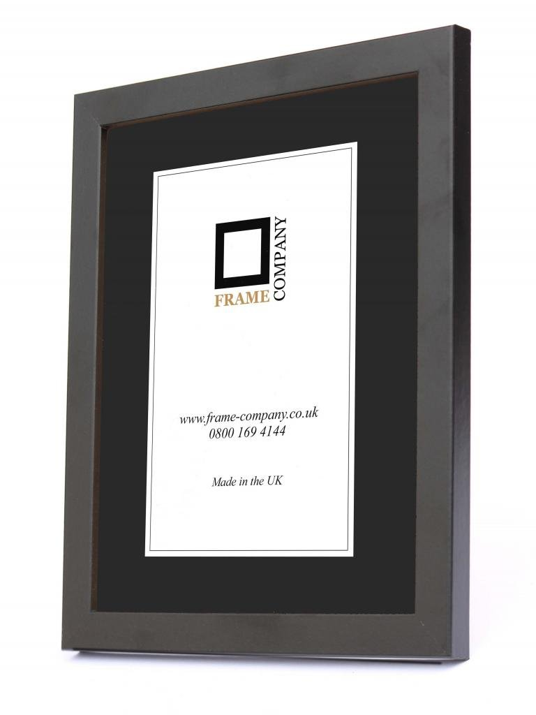 Black White Beech or Rustic Picture Photo Poster Frames *Glass or Perspex