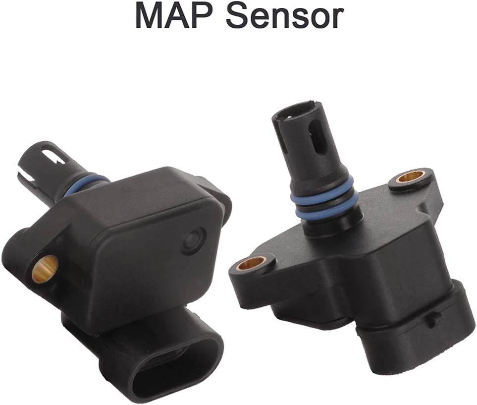 ZENITHIKE Manifold Absolute Pressure Sensor Replacement for 05139278AA 2003-2009 D-odge Ram 2500 2003-2007 D-odge Ram 3500 2pcs
