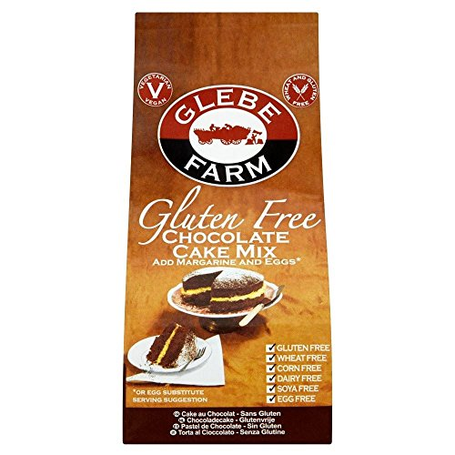 Glebe Farm Gluten Free Cake Mix Chocolate (300g) - Pack of 2 by Glebe Farm