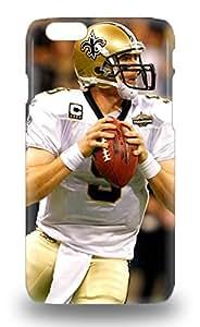 Tough Iphone 3D PC Case Cover 3D PC Case For Iphone 6 NFL New Orleans Saints Drew Brees #9 ( Custom Picture iPhone 6, iPhone 6 PLUS, iPhone 5, iPhone 5S, iPhone 5C, iPhone 4, iPhone 4S,Galaxy S6,Galaxy S5,Galaxy S4,Galaxy S3,Note 3,iPad Mini-Mini 2,iPad Air )