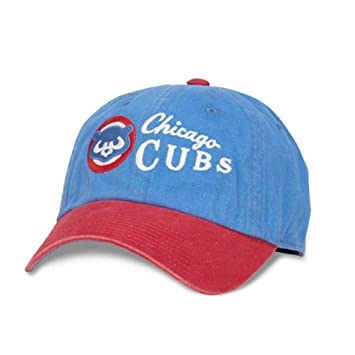 b1808bcbfd4 American Needle Chicago Cubs Dyer Adjustable Strapback Hat  Amazon.co.uk   Sports   Outdoors