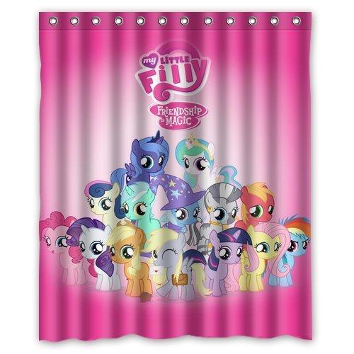 My Little Pony Friendship Is Magic Custom Shower Curtain Amazing Decorate  Your Bathroom 60u0026quot;X72u0026quot