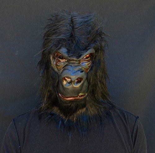 Acid Tactical Gorillla Halloween Monkey Costume Adult Ape (Monkey Makeup Costume)