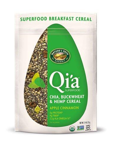 (Nature's Path Organic Qia? Superfood Chia-Buckwheat & Hemp Cereal Apple Cinnamon -- 7.9 oz - 2 pc)