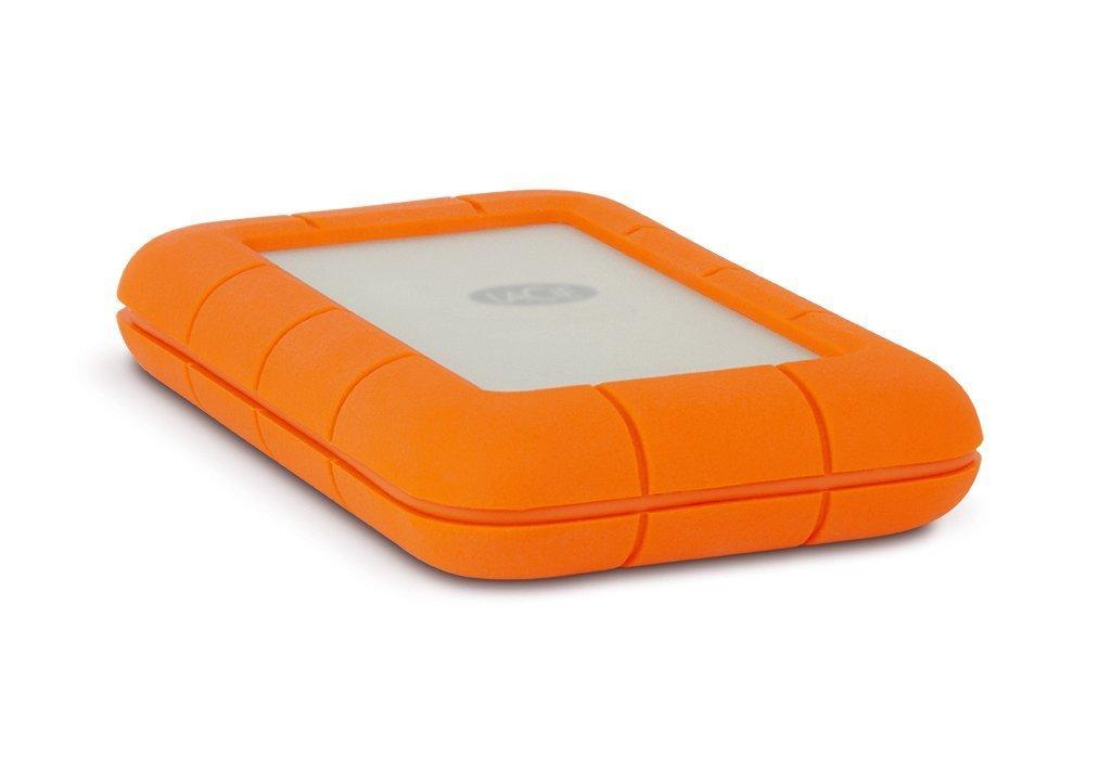 LaCie Rugged Mini - Disco Duro Externo de 2 TB con USB 3.0, Naranja Seagate LAC9000298