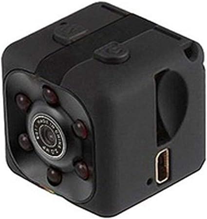 1080P Mini Cam/éscope Voiture DVR Enregistreur Vid/éo Infrarouge Sport Appareil Photo Num/érique Support TF Carte DV Cam/éra Bande Noire WEIHAN SQ11 HD 960