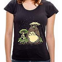 - Camiseta Chihiro e Totoro - Feminina
