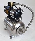Hauswasserwerk-megafixx-S5-50ES-1100-Watt-50-Liter-Edelstahl-Druckkessel