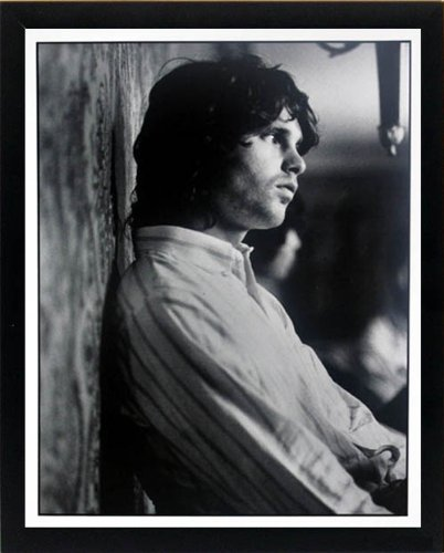 Jim Morrison Portrait - The Doors Jim Morrison Portrait Poster Framed Print Highest Quality