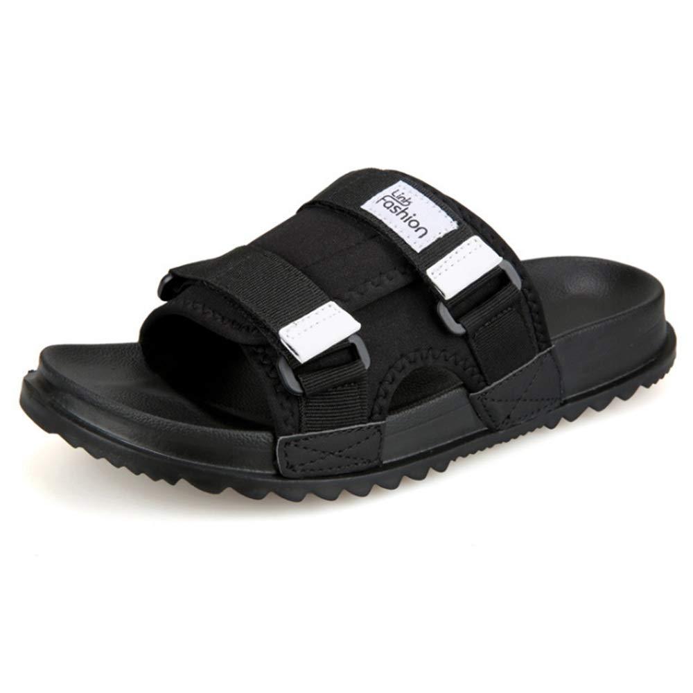 Wangcui der Sommer-Freizeit-Anti-Blockierstrand-Schuhe der Pantoffel-Männer Breathable Schwarze Schuhe : (Farbe : Schwarz, Größe : Schuhe 41 1/3 EU) Schwarz f60818