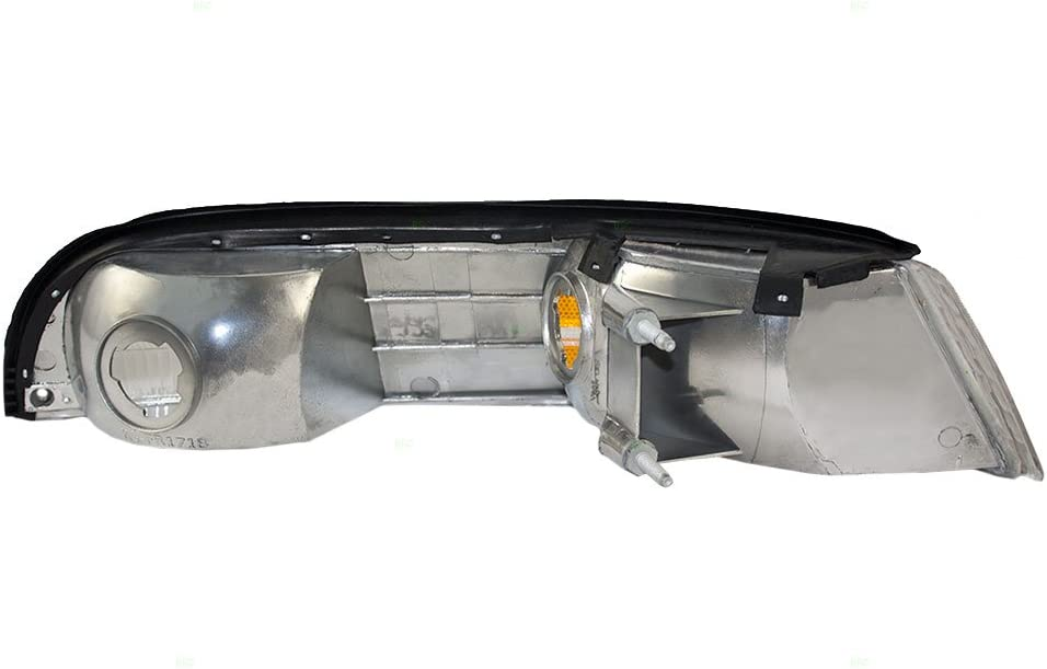 Drivers Park Signal Side Marker Light with Cornering Lamp Replacement for 1992-1997 Crown Victoria F2AZ13201B
