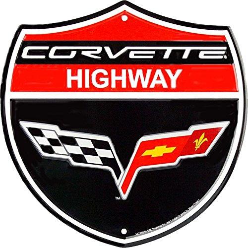 - Signs 4 Fun Shacc Corvette HWY Shield Sign