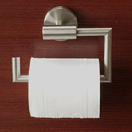montado en la pared ideal para cocina y ba/ño OFKPO Soporte para Papel Higi/énico acero inoxidable