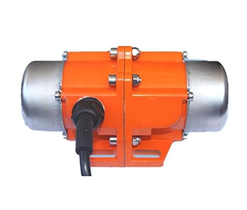 Concrete Vibrator Vibration Motor 30W Single Phase AC110V 3600rpm Aluminum Alloy Vibrating Vibrators for Shaker Table 30W