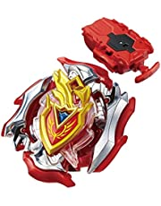 Burst Chouzetsu B - 105 Starter Zet Achilles.11.Xt Bey Stater Set with B-108 Bey String Launcher Red