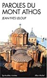Front cover for the book Paroles du Mont Athos by Jean-Yves Leloup