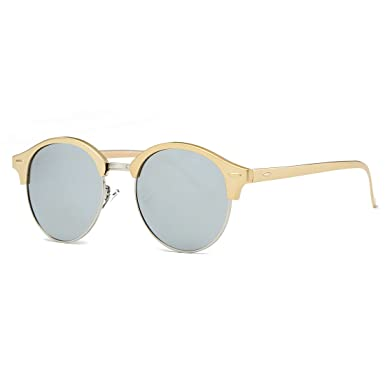 607229271f9 AEVOGUE Polarized Sunglasses Womens Semi-Rimless Metal Frame Unisex Glasses  AE0503