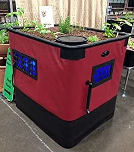 Genesis G-12 Aquaponics System | Complete Kit Includes 12 Sq. Ft. Grow Bed, 140 Gallon Fish Tank, Pre Cut Plumbing, Pumps, Clay Pebbles