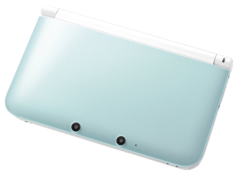 Nintendo 3DS LL mint X white SPR-S-MAAA