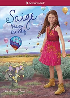 Saige Paints the Sky (American Girl Today: Saige Book 2) by [Haas, Jessie]