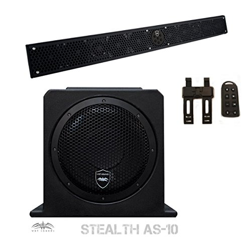 Wet Sounds Package - Black Stealth 10 Ul - Stealth Package Shopping Results
