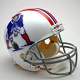 NFL Riddell New England Patriots White 1965-1981 Throwback Replica Full-Size Helmet