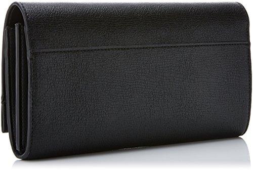 Calvin Klein Instant Clutch On Chain - Pochette da giorno Donna, Nero (Black), 5x14x27 cm (B x H T)
