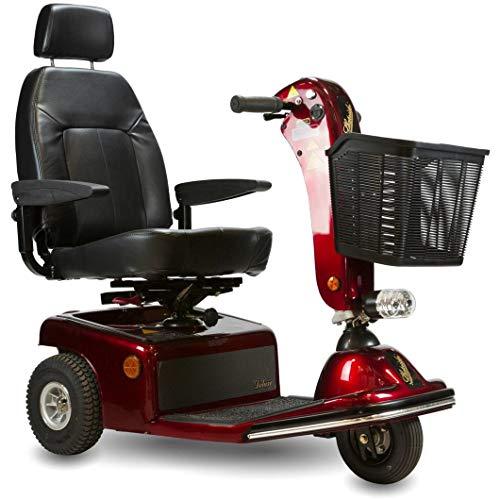 - Shoprider - Sunrunner 3 - Mid-Size Scooter - 3-Wheel - Burgundy