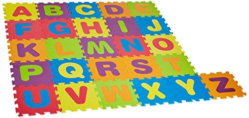 Best Brands Alphabet Puzzle Activity Play Mat, Multicolor