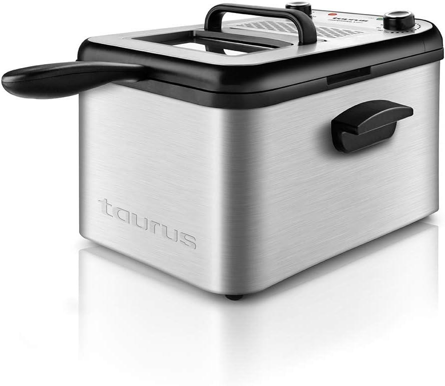 Taurus Professional 3 MAX Freidora de Aceite de 3 Litros, Multicolor: Amazon.es: Hogar