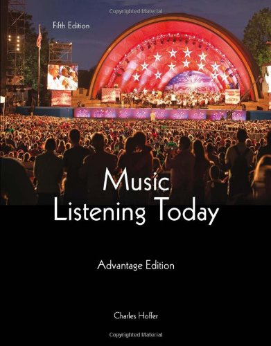 Music Listening Today, Cengage Advantage Edition (with Digital Music Download Printed Access (Advantage Music)