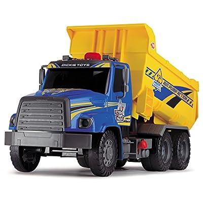 Dickie Toys Air Pump Action Dump Truck, 21