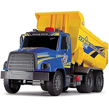 "Dickie Toys Air Pump Action Dump Truck, 21"""