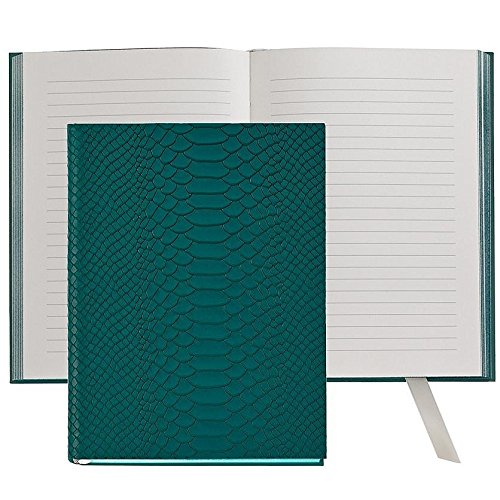 The MILLENNIAL JOURNAL Spruce Embossed Python Leather by Graphic Image™ - 6x8 by Graphic Image