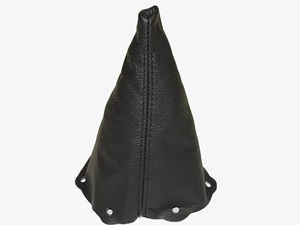 color negro Palanca de cambios cambio para piel con costuras