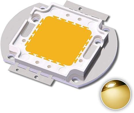 1Pcs 100W Watt High Power Warm White 3000-3500K SMD LED Chip COB Lamp Lights