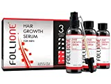 Hair Growth Serum for Men | Dermatologically Tested Hair Loss & Hair Thinning Treatment | Three month supply