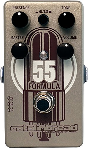 Catalinbread Formula No. 55 Foundation Overdrive Guitar Effects Pedal (Best Tweed Overdrive Pedal)