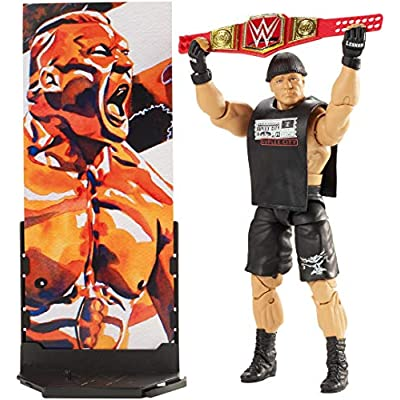 WWE Brock Lesnar Elite Collection Action Figure: Toys & Games