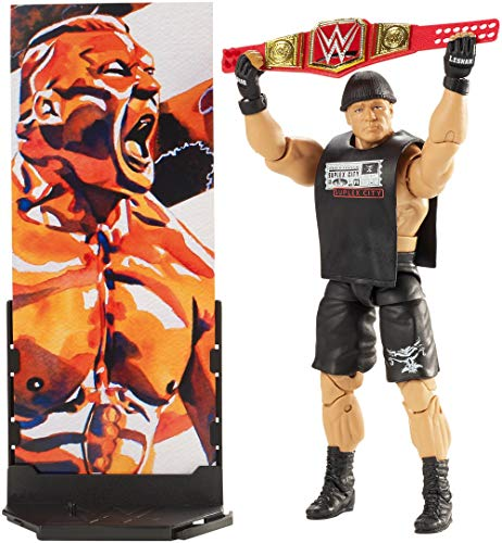 WWE Brock Lesnar Elite Collection Action Figure