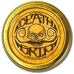 Death Grip Moustache Wax, All-Natural, 1...