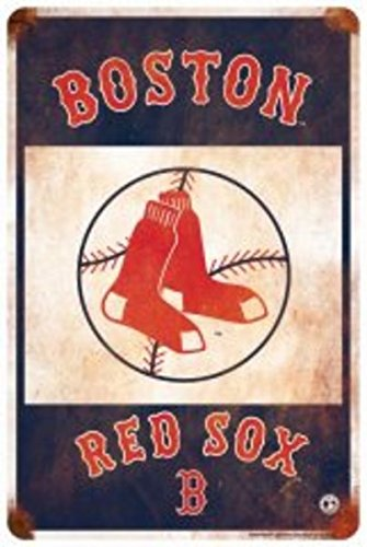 Boston Red Sox Retro Parking Sign ()