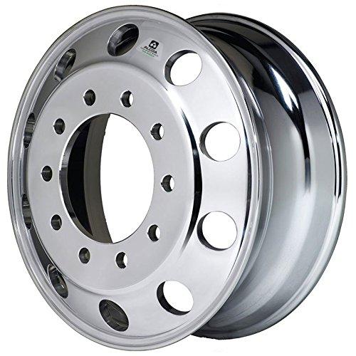 Alcoa 24.5'' x 8.25'' Dura Bright EVO 10 Lug Front Steer Wheel (983631DB) by Alcoa