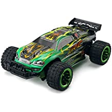 JJR/C Off-Road Rock Vehicle, Q36 RC Cars 1:26 2.4G All Terrain Dune BuggyRemote Control Resistance Strong Power Output Speed Off-road High-speed Car(Green)
