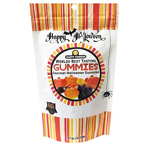 (Happy Yummies Worlds Best Tasting Gummies (Halloween Assortment)