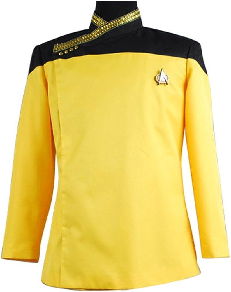 Daiendi Star Trek TNG vestido uniforme chaqueta disfraz UE ...