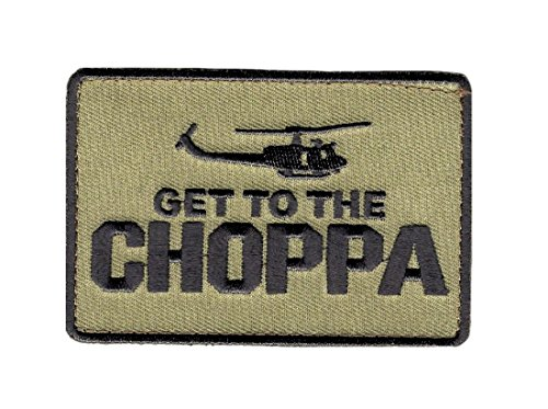 Get To The Choppa Embroidered Patch
