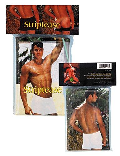 Striptease Bade Buch für Frauen bunt 17x12cm