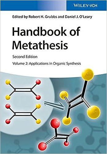 ผลการค้นหารูปภาพสำหรับ Handbook of Metathesis ... Applications in Organic Synthesis
